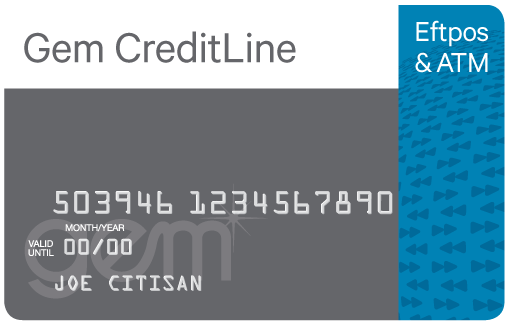 Gem CreditLine card